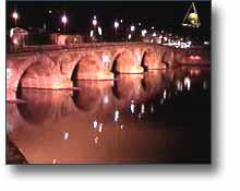 Vidéo de Toulouse la nuit en 1998