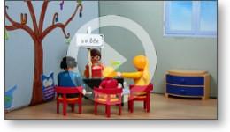 Voir la vidéo de présentation de l'orthophoniste...