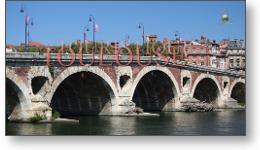 Vidéo City Tour à Toulouse : Pont Neuf à Toulouse