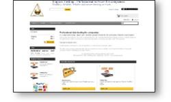 Site web e-commerce de réservation d'hébergement de données informatiques (mutualisé ou serveur dédié - web ou messageries).