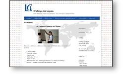 Refonte du site web du centre de formation LCL