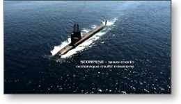 Film groupe LGM : Sous-marin DCNS