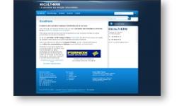 Refonte du site web de la société Escaltherm