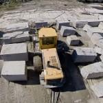 Tournage vidéo avec drone à la carrière Plo au Sidobre