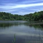 Tournage vidéo au lac du merle dans le Parc naturel du Sidobre.