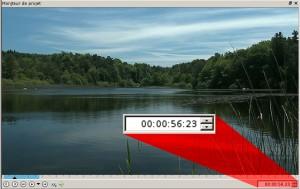 Le timecode dans le moniteur de montage vidéo