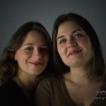 Photo portrait deux sœurs