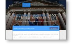 Site vitrine pour un cabinet d'avocat