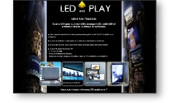 Sites web de LED AND PLAY, spécialiste des écrans LED géants