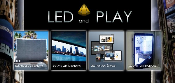 Sites web du groupe LED AND PLAY
