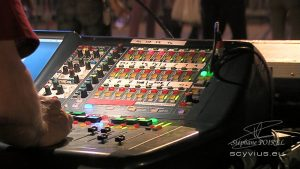 Régie concert au Festival des arts numériques