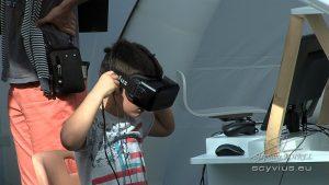 Stands au festival des arts numériques