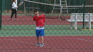 Tournage vidéo fête du sport tennis