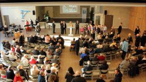 Tournage vidéo de l'inauguration de la nouvelle salle du Lauragais