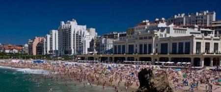 Film vidéo sur Biarritz