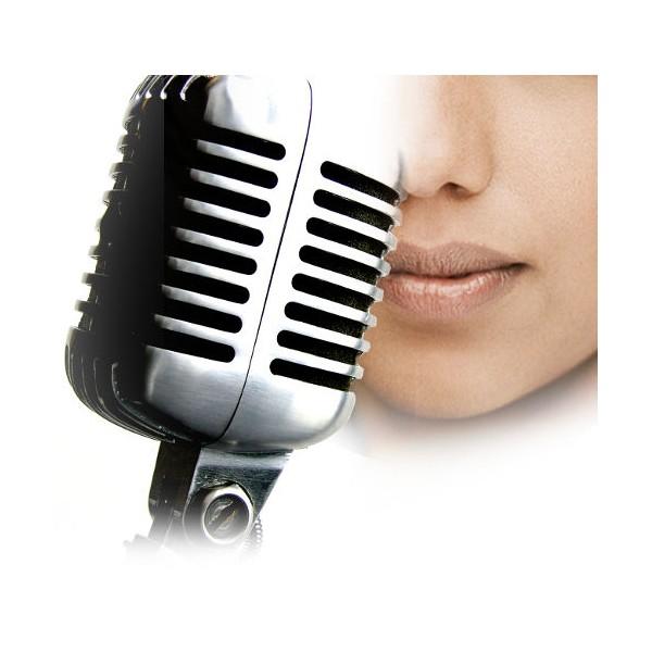 Enregistrement vidéo d'une interview en studio photo