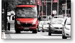 Minibus Cabriolet du City Tour Toulouse