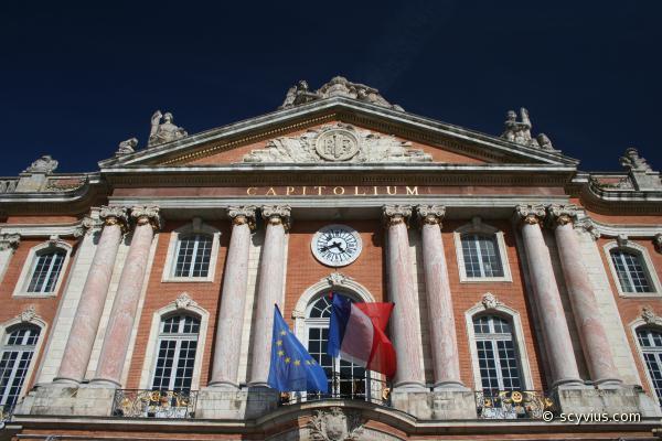 Façade du Capitole de Toulouse