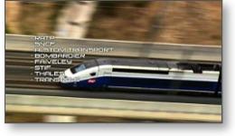 Film LGM acitivté ferroviaire (TGV - SNCF)