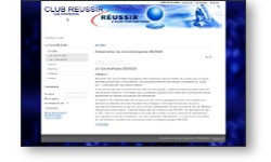Refonte portail web du club Réussir