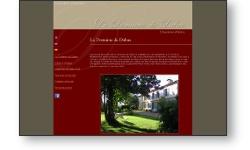 Refonte du site web du domaine de Dubac : Chambres d'hôtes