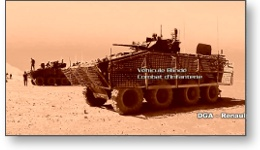 Film groupe LGM : Véhicule militaire blindé