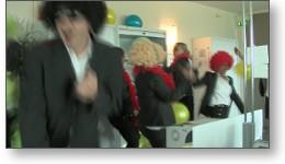 Tournage vidéo d'un Lipdub en entreprise