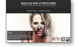 Inauguration du site web MAQUILLAGE MAKE UP PROFESSIONNEL