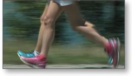Film vidéo de présentation d'une application smartphone liée au sport