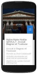 Site responsive-design du cabinet d'avocats AVOCATS-GEARULT.FR
