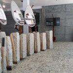 Granit de l'espace muséologique du Sidobre