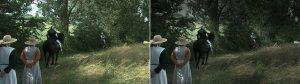 Diminution des contrastes pendant le montage vidéo