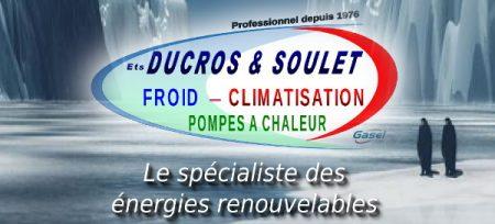 Encart publicitaire Ducros et Soulet