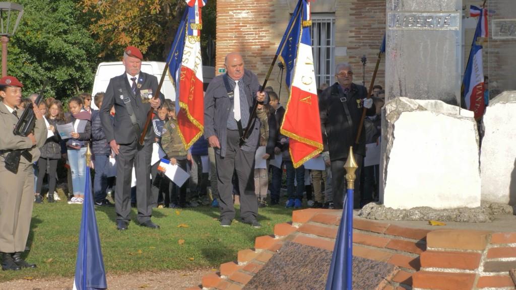 Édition vidéo du reportage réalisé pour la mairie de Bouloc, de la cérémonie commémorative du centenaire de l'armistice de 1918