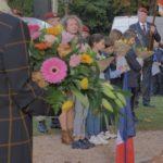 Tournage de la cérémonie du 11 Novembre à la mairie de Bouloc
