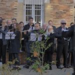 Tournage de la commémoration du11 Novembre à Bouloc