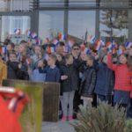 Tournage de la commémoration de l'armistice de 1918 à Bouloc