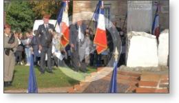 Reportage vidéo de la cérémonie commémorative du centenaire de l'armistice de 1918