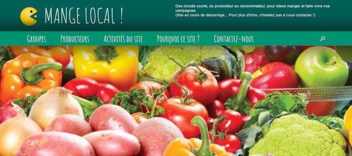 site web mangelocal.fr