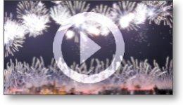 Captation vidéo du feu d'artifice du 14 Juillet 2019 à Carcassonne