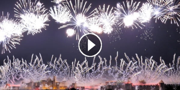 FEU D'ARTIFICE DE CARCASSONNE