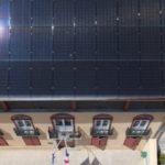 Panneaux solaires sur mairie