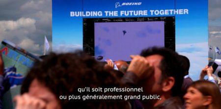 Sous titrages vidéo au salon du Bourget 2019