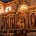 Éclairages de l'église de Cazères