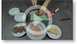 Tuto en vidéo de la recette salade César