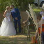 Début de la cérémonie laïque du mariage