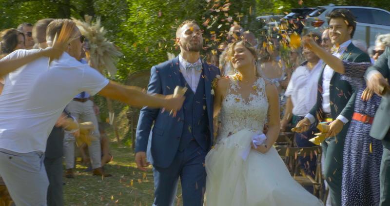 ÉDITION D'UN FILM DE MARIAGE